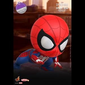 Hot Toys Marvel's Spider-Man Advanced Suit Cosbaby (S) Bobble-Head