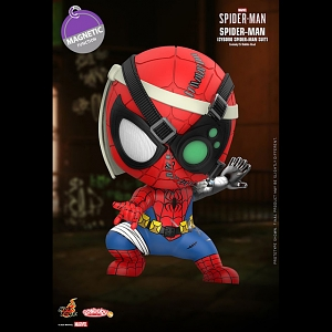 Hot Toys Marvel's Spider-Man Cyborg Suit Cosbaby (S) Bobble-Head