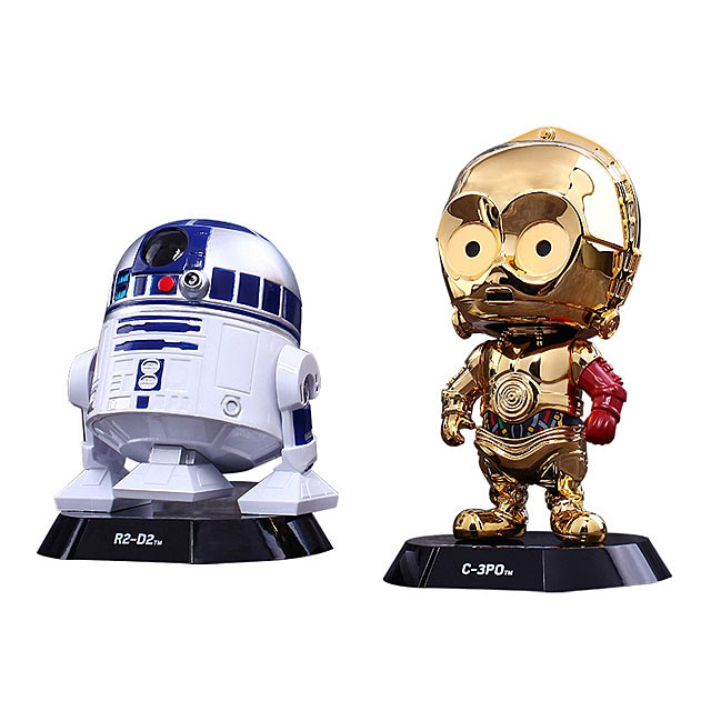 Hot Toys Star Wars C-3PO & R2-D2 Cosbaby Bobble-Head Set