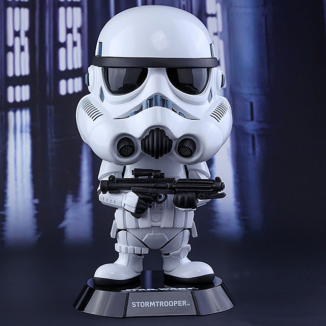 Hot Toys Star Wars Stormtrooper Cosbaby (L) Bobble-Head
