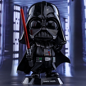 Hot Toys Star Wars Darth Vader Cosbaby (L) Bobble-Head