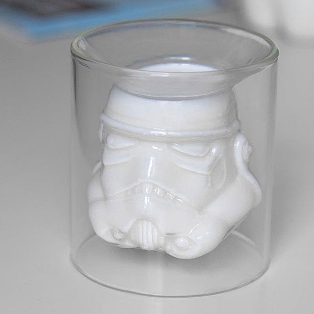 Hot Toys Star Wars Stormtrooper Double Wall Glass Cup