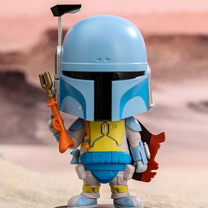 Hot Toys Star Wars Boba Fett (Animation Version) Cosbaby (S) Bobble-Head