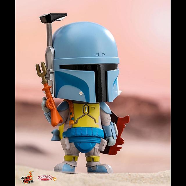 Animation Version Hot Toys Star Wars Cosbaby Bobble-Head Boba Fett In Stock