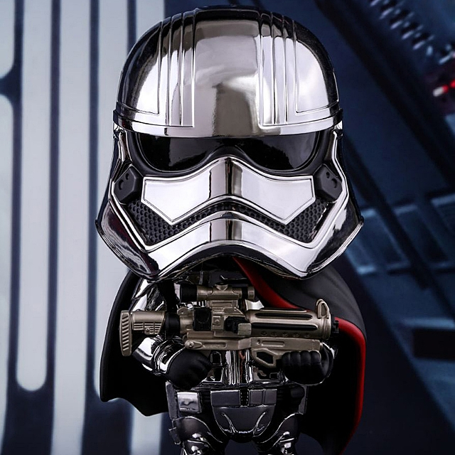 Hot Toys Cosbaby Star Wars Captain Phasma Figure