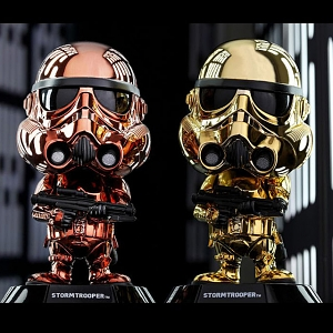 Hot Toys Star Wars Stormtrooper (Metallic Color Version) Cosbaby (S) Bobble-Head