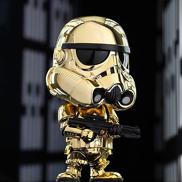 Hot Toys Star Wars Stormtrooper Cosbaby Gold /& Copper Metallic Color Version