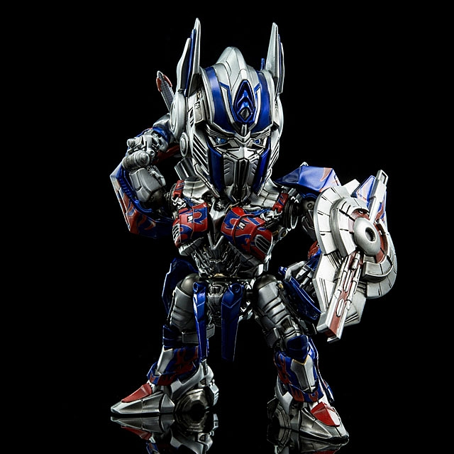 Hybrid Metal Figuration Transformers Optimus Prime With Sword 15cm Figure