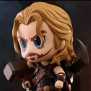Hot Toys Thor Ragnarok - Roadworn Thor Cosbaby (S) Bobble-Head