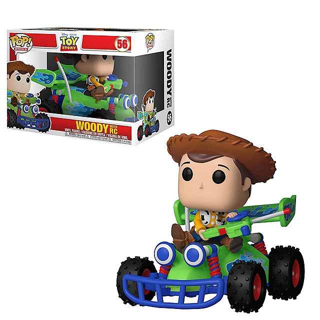 Funko POP Toy Story 4 - Woody with RC Multicolor #69 6-inch Figure