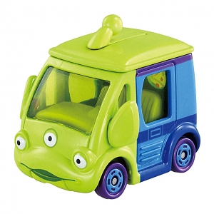 Takara Tomy Tomica Disney Motors DM-14 Cubit Alien