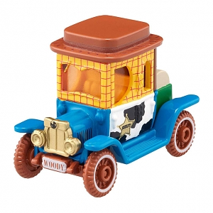 Takara Tomy Tomica Disney Motors DM-18 High Hat Classic Woody
