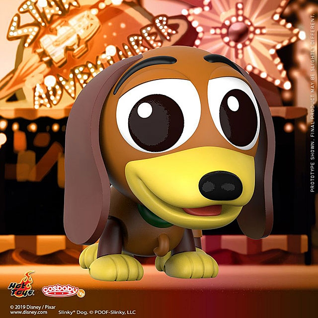 Hot Toys Toy Story 4 - Slinky Dog Cosbaby (S) Bobble-Head