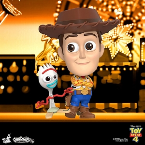 Hot Toys Toy Story 4 - Woody & Forky Cosbaby (S) Bobble-Head