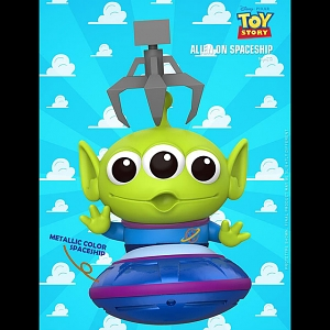 Hot Toys Toy Story 4 - Alien On Spaceship Cosbaby (S) Bobble-Head