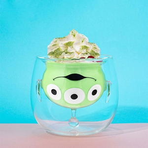 Beast Kingdom Toy Story 4 - Alien Double-Layer Glass Cup