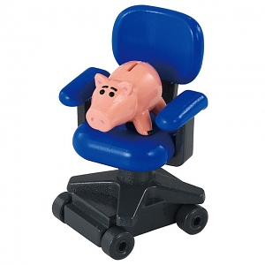 Takara Tomy Dream Tomica Ride on Toy Story TS-09 Hamm & Andy's Chair