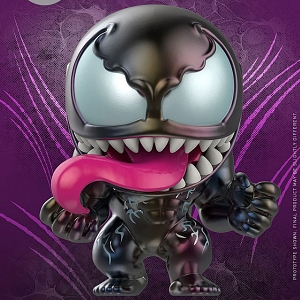 Hot Toys Venom - Venom (Multicolor Version) Cosbaby (S) Bobble-Head