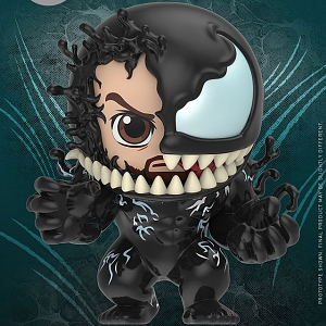 Hot Toys Venom - Venom & Eddie Brock Cosbaby (S) Bobble-Head