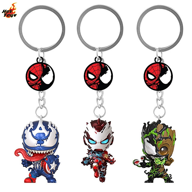 Hot Toys Marvel Venomized Series Cosbaby (S) Keychain