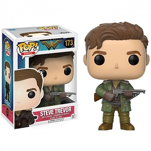Funko POP Wonder Woman - Steve Trevor Action Figure