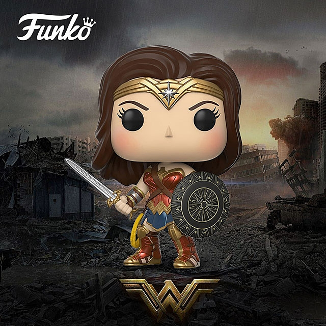 Funko POP Wonder Woman - Wonder Woman Action Figure
