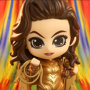 Hot Toys Wonder Woman 1984 - Golden Armor Wonder Woman Cosbaby (S) Bobble-Head