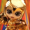 Hot Toys Wonder Woman 1984 - Golden Armor Wonder Woman (Metallic Gold Version) Cosbaby (S) Bobble-Head