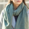 Simple Thin Silk Scarf