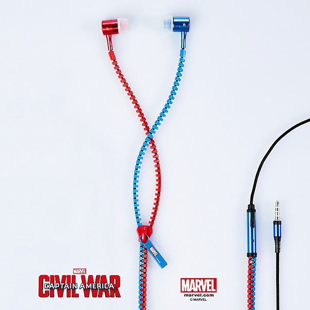 infoThink Captain America 3 - 3.5mm Earphone