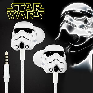 Star Wars 3D Stormtrooper 3.5mm In-Ear Earphone