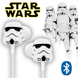 Star Wars 3D Stormtrooper Bluetooth In-Ear Earphone