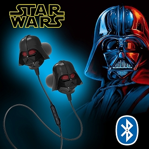 Star Wars 3D Darth Vader Bluetooth In-Ear Earphone