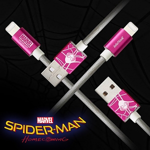 Infothink Spider Gwen Lightning USB Cable