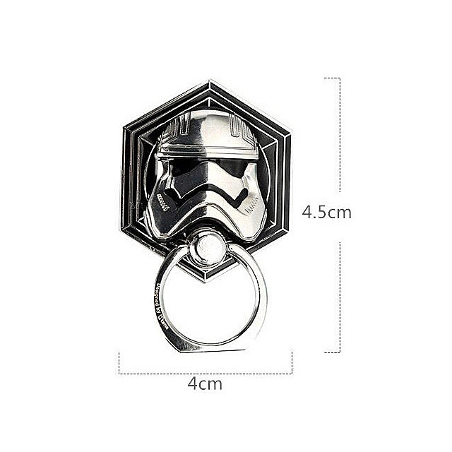 Star Wars 3D Stormtrooper Finger Ring Mount Stand Holder