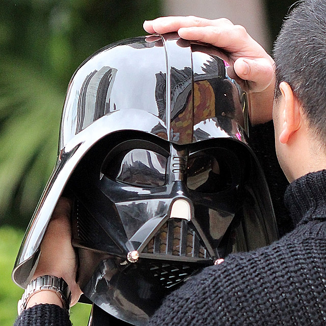 Star Wars Darth Vader Head 1:1 Bluetooth Speaker