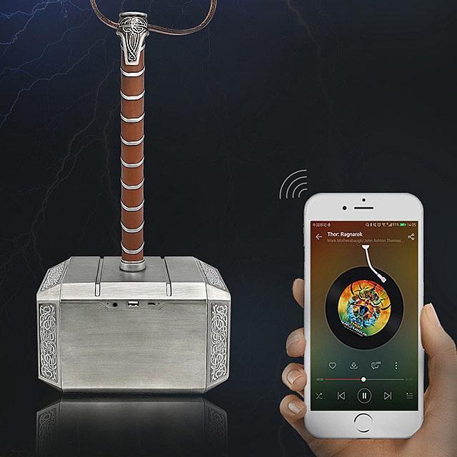 Thor Hammer 1 1 Scale Bluetooth Speaker