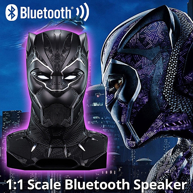 Black Panther 1:1 Scale Bluetooth Speaker