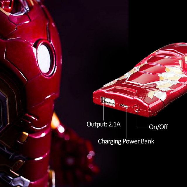 MARVEL Iron Man Mark XLIII (43) Power Bank 5000mAh (Limited Edition)