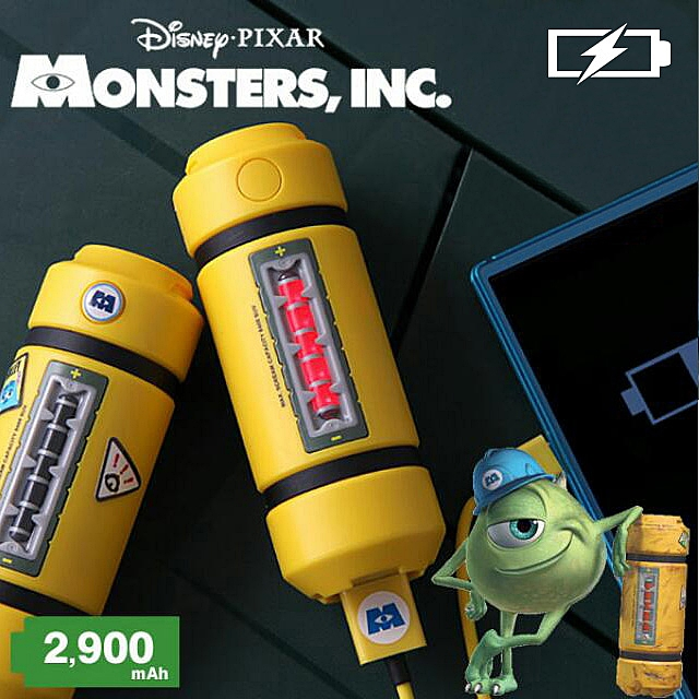 Disney Monsters Inc - Energy Tank Power Bank (2900mAh)