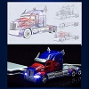 Transformers Optimus Prime Truck Power Bank (7000mAh)