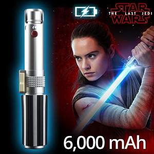 Star Wars Lightsaber Portable Battery Charger with Laser Pointer (6000mAh)