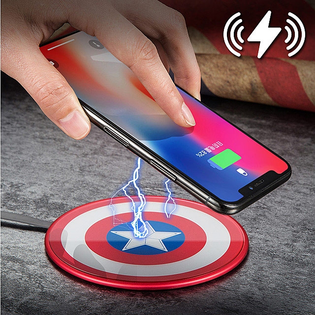 Captain America Shield Wireless Charger