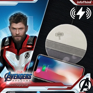 infothink AVENGERS - ENDGAME Series Wireless Charging Pad (Thor)
