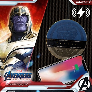 infothink AVENGERS - ENDGAME Series Wireless Charging Pad (Thanos)