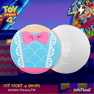 infoThink Toy Story 4 Wireless Charging Pad - Bo Beep