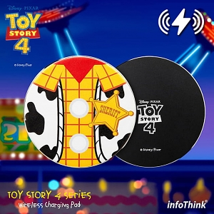 infoThink Toy Story 4 Wireless Charging Pad - Woody