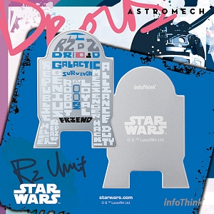 infoThink Star Wars Series Wireless Charging Pad - R2D2
