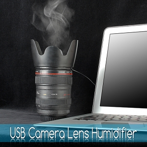 USB Camera Lens Humidifier