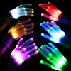 LED Light Finger Gloves
